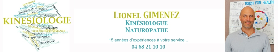 Kinésiologue, Naturoptahe, c'est 15 années d'expériences à votre service, RDV au 04 68 21 10 10